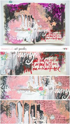 Art Journaling is like yoga for the soul.