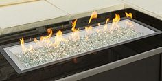 Outdoor Greatroom CF-1242-DIY Crystal Fire Burner – The Fire Pits Store  #firepits #diy