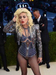 Lady Gaga Manus x Machina Fashion Age Technology Costume