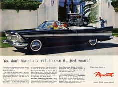 1957 Plymouth Belvedere Convertible by aldenjewell, via Flickr