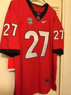 bb72f89c1 http   www.xjersey.com georgia-bulldogs-27-chubb-red-ncaa-jerseys ...