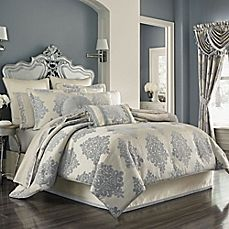 image of J. Queen New York™ Dante Comforter Set in Cream