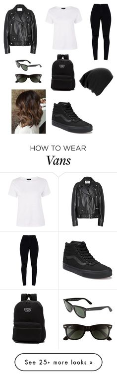 """Untitled #1"" by ethandolan-1 on Polyvore featuring Acne Studios, Topshop, Vans and Ray-Ban"