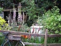 rustic small gardens