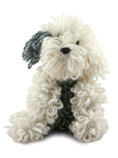 TOFT Amigurumi Crochet Large Old English Sheepdog kit