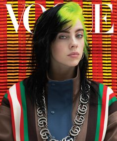 Pop star Billie Eilish covers the March 2020 issue of American Vogue, lensed by Ethan James Green, Harley Weir, and Hassan Hajjaj for three Vogue covers. Billie Eilish, Marie Kondo Methode, Camille Hurel, James Rosenquist, Harley Weir, Dibujos Cute, Vogue Japan, Vogue Russia, Vogue Covers