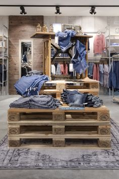 "DEMES/CEDE TRENDBOX, Vreden, Germany,  ""Denim is really expanding,It's not just a weekend basic,It's a fashion must"", pinned by Ton van der Veer"