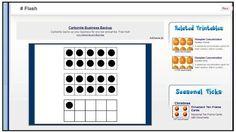 Teach it With Class: New Math Website {subitizing game} Number Talks Kindergarten, Teaching Kindergarten, Teaching Ideas, Math Dyslexia, Math Websites, Math Workshop, Workshop Ideas, I Love Math, Subitizing
