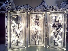 Personalized Glass Blocks
