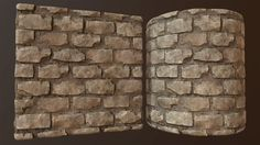 ArtStation - Old Bricks - Substance, Joshua Williams