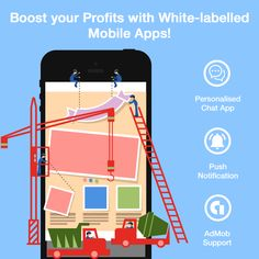 White-labelled Mobile App - Slicker & Easy to Monetize Mobile Chat App, Creative Design, Web Design, Campaign, Poster, Inspiration, Design Web, Biblical Inspiration, Posters