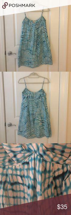 Ann Taylor Silk Dress Beautiful silk dress.  Perfect for summer.  Lightly worn! Ann Taylor Dresses