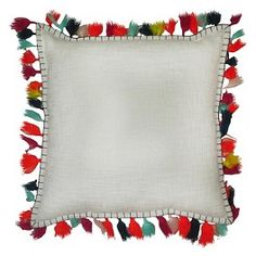 Pillow with Tassels - Threshold™