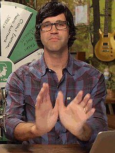 Freakin Link Neal being too to freakin cute for his own dang freakin good.