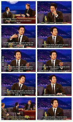 Glenn from the Walking Dead on dating