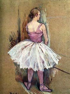Standing Dancer (1890). Henri de Toulouse-Lautrec (French,...