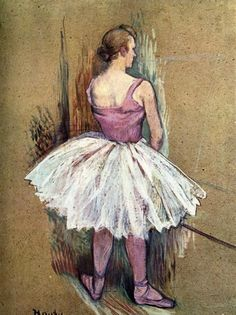Standing Dancer (1890). Henri de Toulouse-Lautrec (French,...