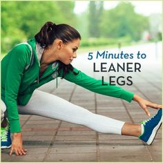 Tone your legs with this easy 5 minute routine.