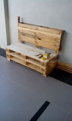 IMG 20140826 175745 480x800 Two pallets bench in pallet chairs with Upcycled Pallets Bench