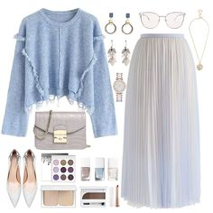 New Fashion Outfits Winter Office Ideas Muslim Fashion, Modest Fashion, Skirt Fashion, Hijab Fashion, Korean Fashion, Classy Outfits, Chic Outfits, Casual Hijab Outfit, Casual Church Outfits