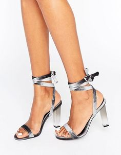 ASOS | ASOS HOPE Clear Heeled Sandals