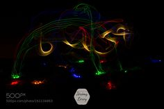 light painting by JLeroy