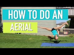 How to do a Back Handspring Stepout - YouTube