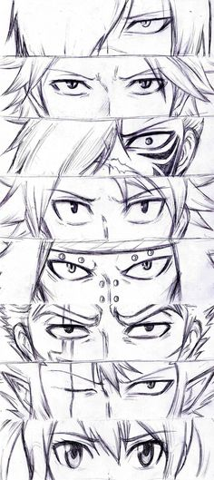 Eyes - Dragon Slayers + Future Rogue WIP by Reyos-Cheney.deviantart.com on @deviantART