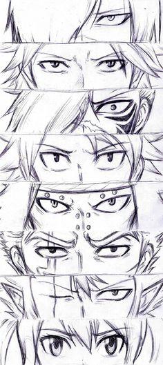Eyes - Dragon Slayers + Future Rogue WIP by Reyos-Cheney.deviantart.com on @deviantART