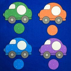 car color match for toddlers and preschool Art Activities For Toddlers, Preschool Learning Activities, Color Activities, Preschool Worksheets, Transportation Theme, Teaching Aids, Car Colors, Early Childhood Education, Memory Games