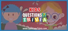 You'll be surprised at how much kids know when you draw them in for a game of trivia. Play trivia questions on play dates, at the car or at the dinner table. Quizzes For Kids, Fun Quizzes, Activity Games, Fun Games, Activities, Trivia Quiz, Trivia Games, Trivia Questions For Kids, Group Games