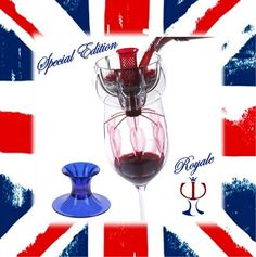 Wine and Jubilee Celebration - this wine aerator makes for the perfect addition to your table