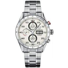 http://www.horloger-paris.com/fr/407-tag-heuer-carrera  Tag Heuer Carrera Chronographe Day Date : CV2A11.BA0796 : Tag Heuer