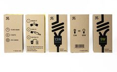 Curating the very best packaging design Label Design, Box Design, Package Design, Portsmouth College, Electronic Packaging, Kraft Packaging, Bottle Box, Lightbulbs, Packing Boxes