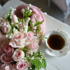 Bouquet de mai cottage, blog campagne chic, shabby chic français 3