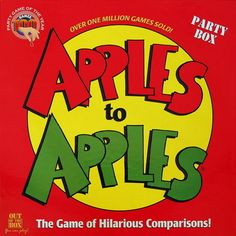 A great game for teenage hangouts or parties. Easy game to play, just compare Apple to Apples. $59.95  - Suggested by Cammeray Mum, The Kids Are All Right forum moderator.
