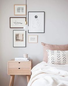 "'' Scandinavian bedrooms style and decor"" is one of the best ideas to beautify your room. '' Bedroom Scandinavian Style and Decoration 'is synonymous with a simple, clean and neat appearance Scandinavian Bedroom, Scandinavian Design, Home Design, Interior Modern, Scandi Chic, Simple Bedroom Decor, Feng Shui Bedroom, Design Living Room, Grey Bedroom Design"