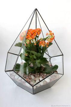 Buy The Floriana. Geometric Floriana Drop of Kalanchoe, 32 cm on Livemaster online shop
