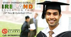 Few Hours to go! Don't miss to attend Ireland Fair organised tomorrow at Hyderabad to meet representatives of top Irish Universities. Visit: http://myeducationfair.in/ for details. #StudyOverseas #Irelandfairs #StudyOptions #Scholarships #BestInstitutions #Hyderabad #24November2016