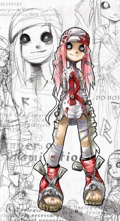 New Character Sketch. by `Endling on deviantART