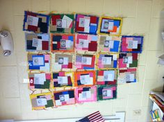 "A Black History Month activity tied into the picture book ""patchwork quilt"" {image only}"