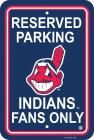 Cleveland Indians Parking Sign 12 In.x 18 In.