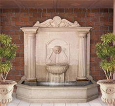 Large Column Wall Fountain_500.jpg (541×500)