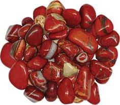 Red Jasper - a stone of stamina strength. It is used to stabilize the root chakra, balance emotions, increase your connection with the earth, enhance memory, stimulate creative sexual activity. Minerals And Gemstones, Crystals Minerals, Rocks And Minerals, Stones And Crystals, Jasper Stone Meaning, Crystal Magic, Mineral Stone, Healing Stones, Healing Crystals