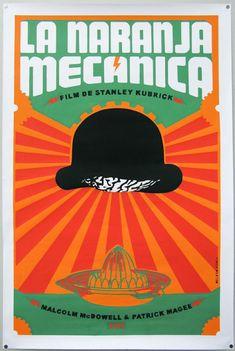 Cuban poster for A Clockwork Orange