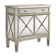 Amazon.com - Mirrored Mirror Furniture Dresser Buffet Cabinet Chest Nightstand Table Bedroom Sideboard Dresser