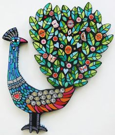 Bird with Blooms