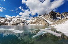 Stuart Range and The Enchantments Map, WA - MountainZone Yakima River, Snow Lake, The Enchantments, Small Lake, Best Rock, National Forest, Climbers, Rock Climbing, Enchanted
