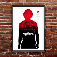 """The Warriors Movie Poster 12X18"""""""