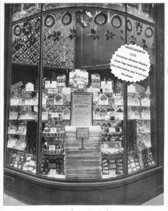 Woolworth 1926 Christmas Show Window Display